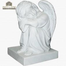 Скульптура ангела из мрамора №99 — ritualum.ru